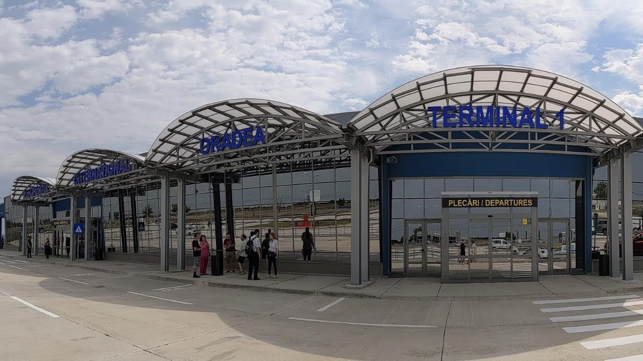 Noul terminal al Aeroportului Internaţional din Oradea a fost finalizat