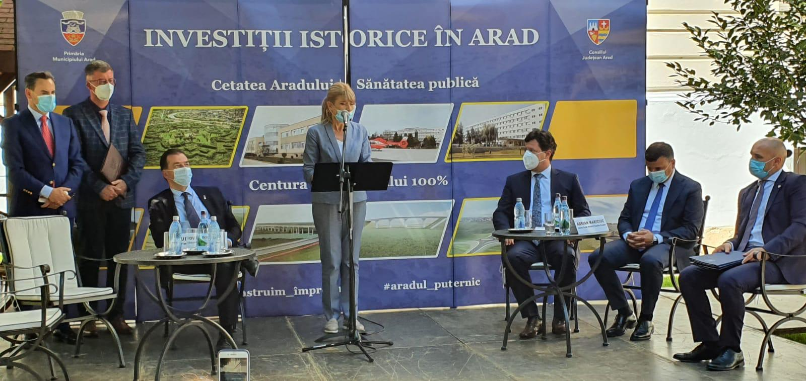 Ultimul segment al centurii municipiului Arad, proiect de 40 milioane de euro, va fi  finanţat de CNAIR