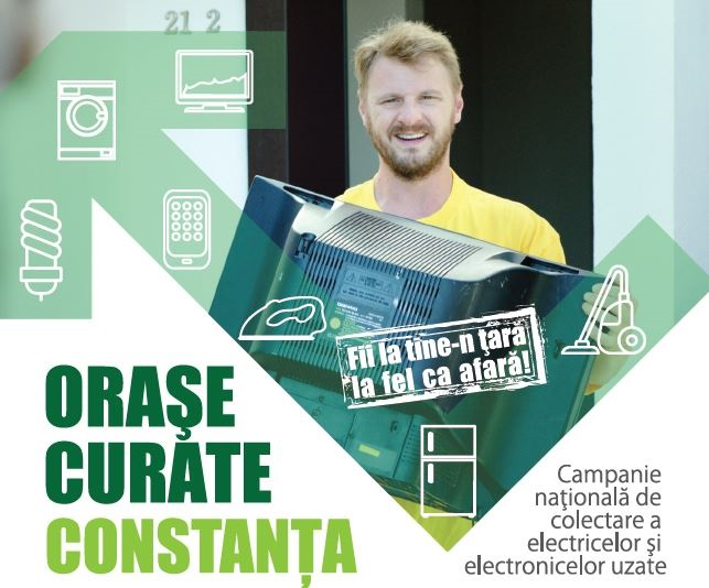 """Campania """"Orașe Curate"""" poposește în Constanța"""