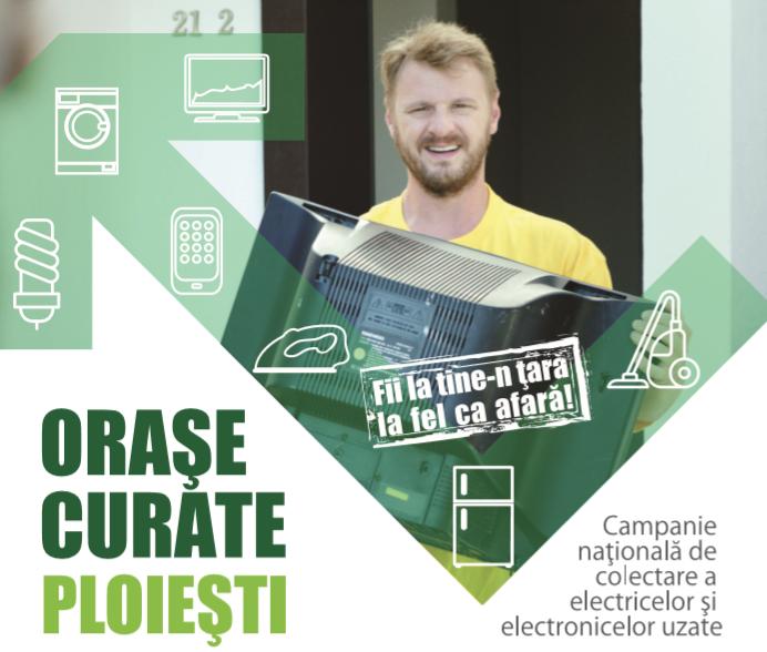 """Campania """"Orașe Curate"""" revine în Ploiești"""