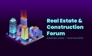"""Despre perspectivele pieței imobiliare din România, în cadrul celei de-a XI-a ediții a """"Real Estate & Construction Forum"""""""