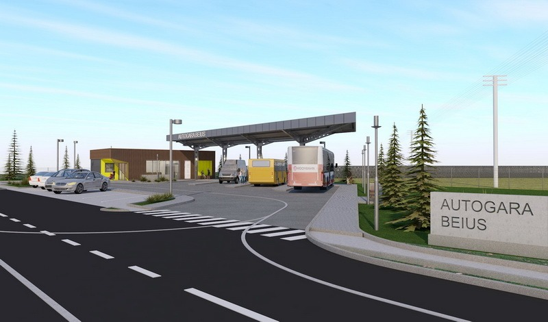 A fost semnat contractul de lucrări pentru noua autogară din municipiul Beiuş