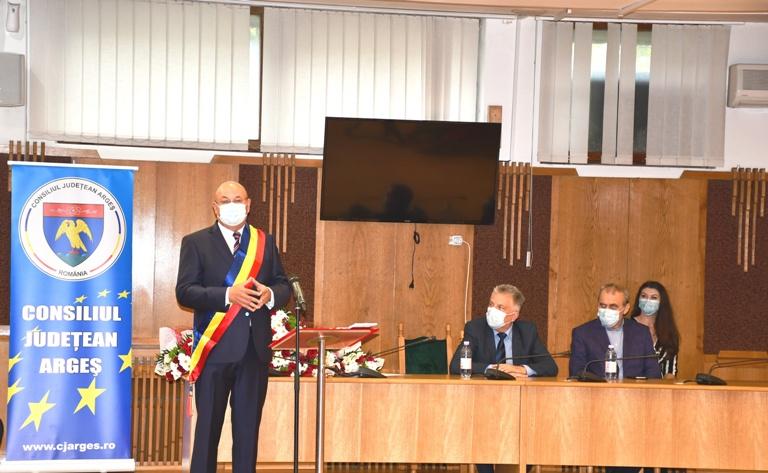 Noul preşedinte al CJ Argeș face apel la unitate