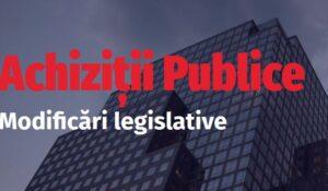 """Webinar """"Modificări legislative în domeniul Achizițiilor Publice"""": 28 octombrie, orele 13.00-17.00"""