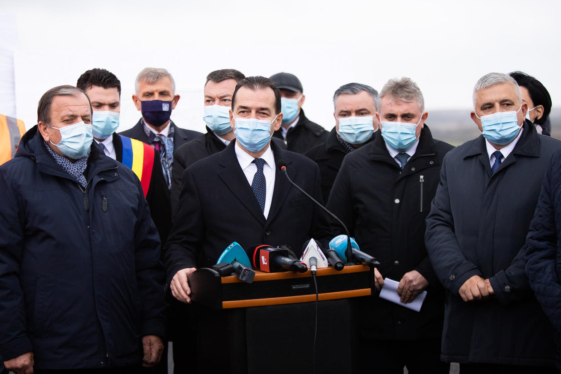 Premierul Ludovic Orban a inaugurat centura municipiului Rădăuţi
