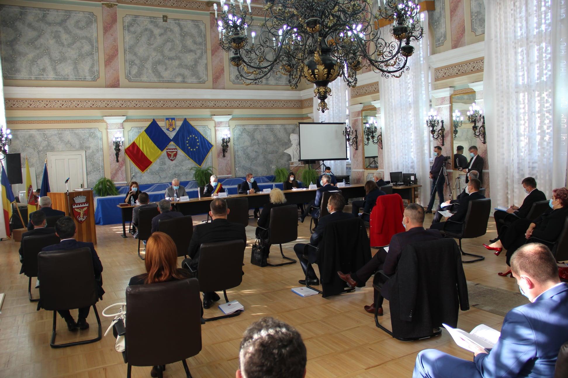 Consilierii locali şi primarul ales al municipiului Zalău au depus jurământul