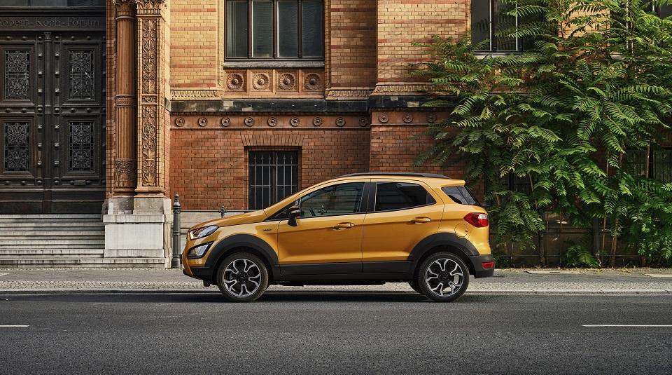 Ford anunță oferta specială de lansare pentru varianta Active a SUV-ului EcoSport