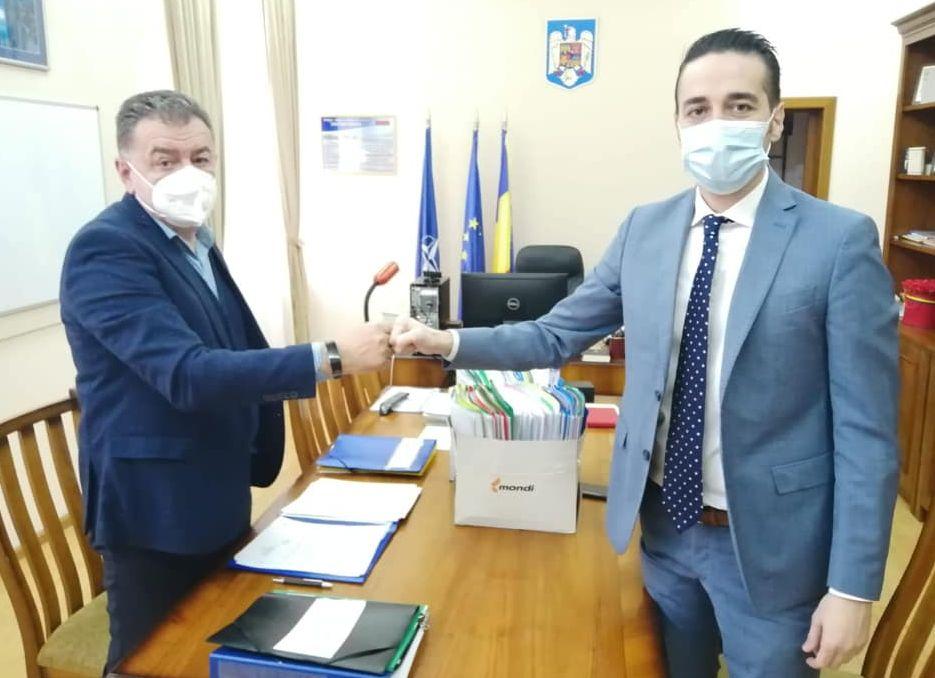 Lucreţiu Tudor şi-a preluat postul de city manager al municipiului Piteşti