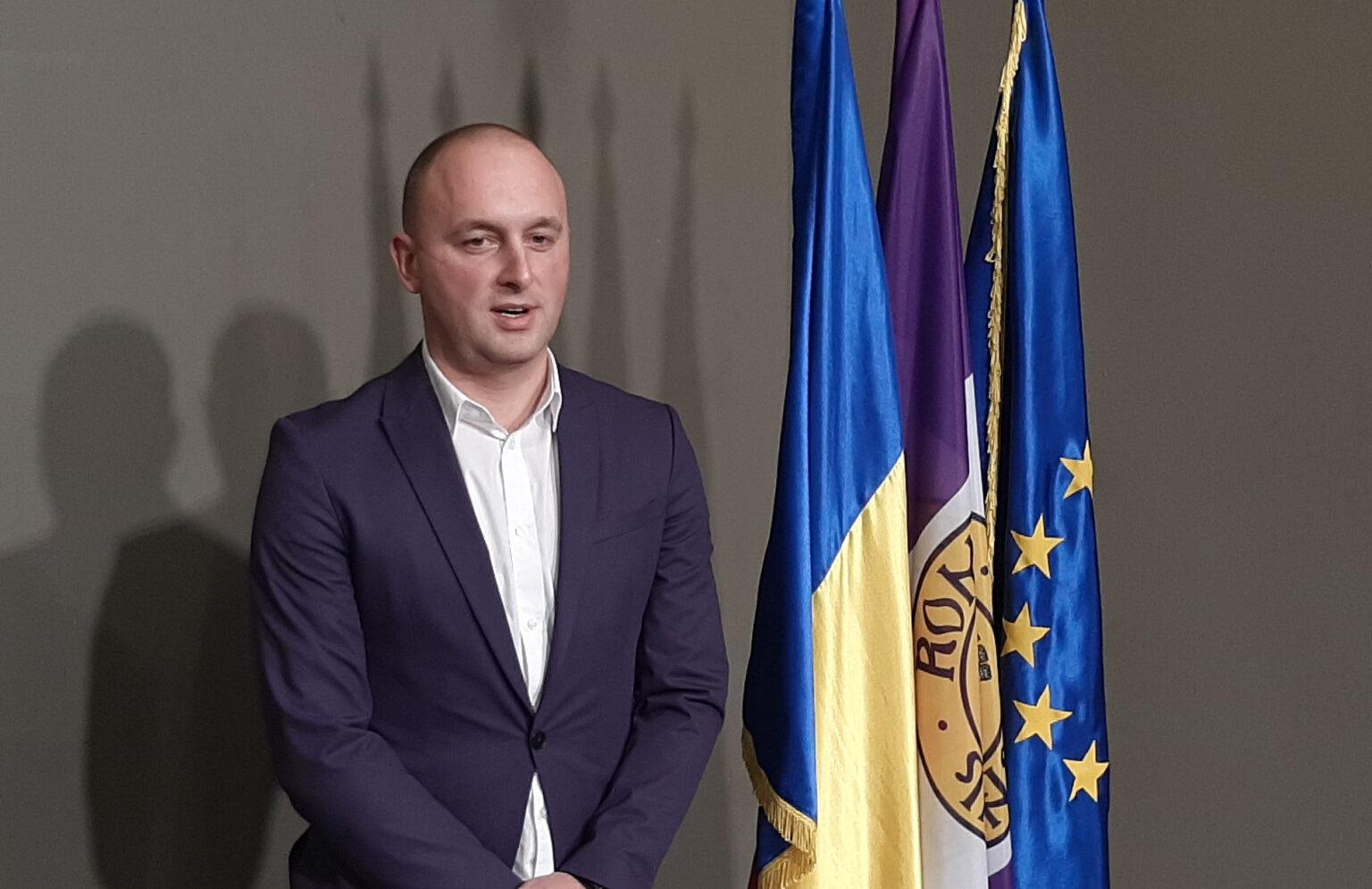 Radu Samson este noul viceprimar al municipiului Roman