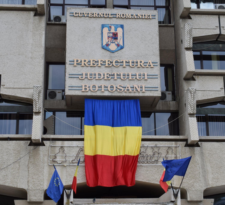 Toţi salariaţii Prefecturii Botoşani primesc un spor COVID-19, de 30% din salariu