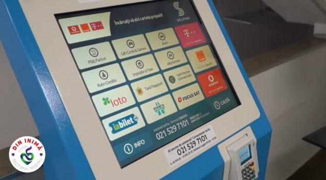 Staţie automată de plată pentru taxe şi impozite locale la Primăria Sectorului 5