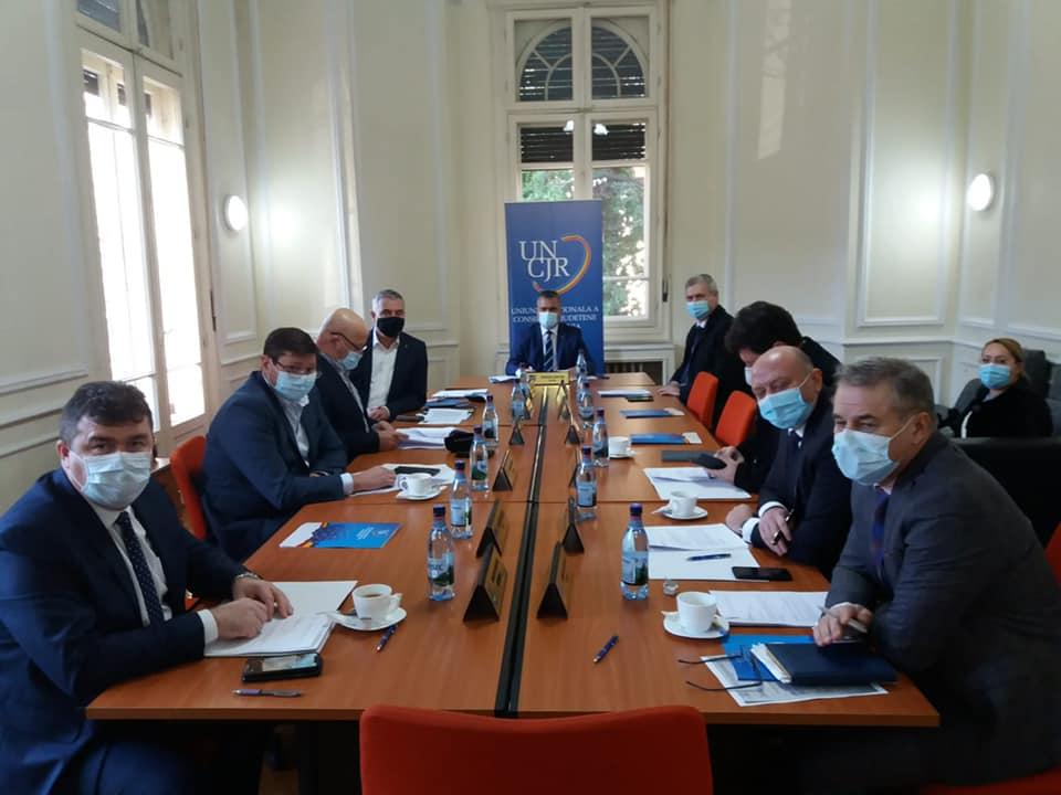 Preşedinţii Consiliilor Judeţene au discutat cu ministrul Finanţelor despre bugetul pe 2021