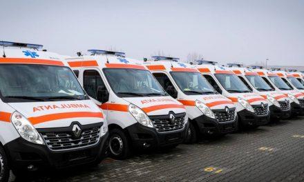Ministerul Dezvoltării achiziţionează 1.358 de ambulanţe noi cu fonduri europene