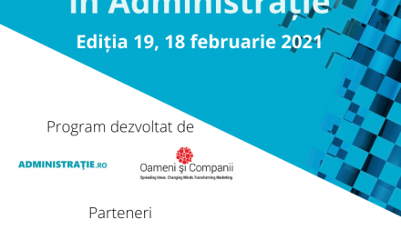 Comunitatea Administratie.ro/ITC: 200 de specialiști au participat la webinarul din 18 februarie