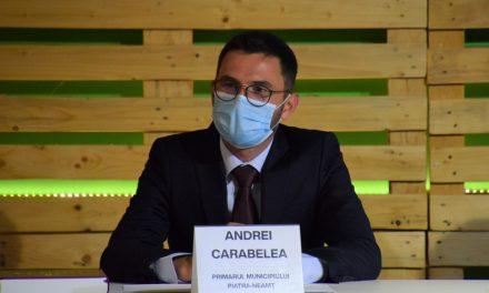 Andrei Carabelea: Educaţia şi investiţiile sunt priorităţile bugetului municipiului  Piatra-Neamţ pe 2021