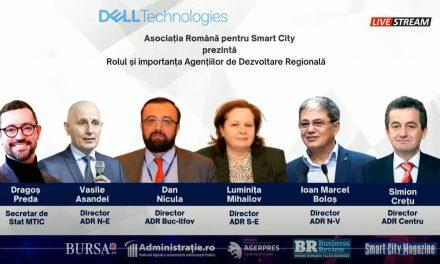 """Asociația Română pentru Smart City a organizat conferința """"Dezvoltarea Regională în România. Rolul și importanța Agențiilor pentru Dezvoltare Regională"""""""