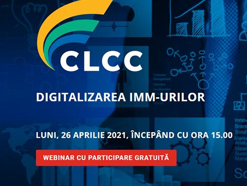"""""""Digitalizarea IMM-urilor"""" – Tema Webinarului Coaliției pentru Libertatea Comerțului și a Comunicării din 26 aprilie"""
