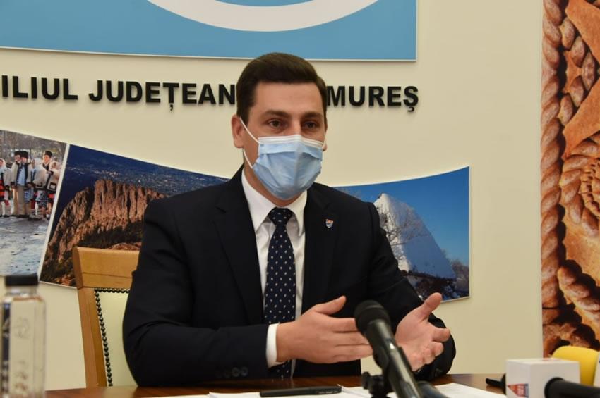 Preşedintele CJ Maramureş afirmă că proiectele de investiţii cu fonduri europene au cofinanţarea asigurată