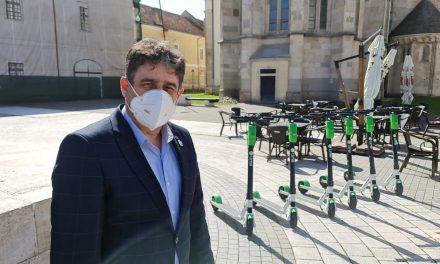 În premieră în Alba Iulia, trotinete electrice disponibile printr-o aplicaţie de ride- sharing