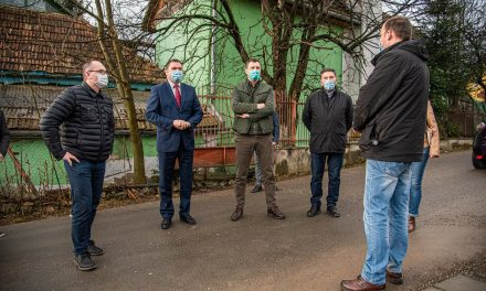 Punct de măsurare a nivelului de poluare urbană pentru zona Harghita, inaugurat la Miercurea Ciuc