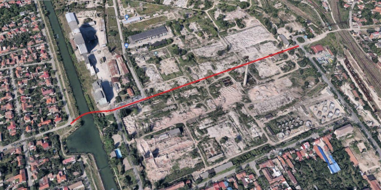 Construirea pasajului şi a podului Solventul din Timișoara intră într-o nouă etapă