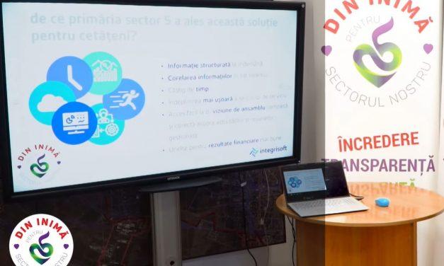 Primăria Sectorului 5 are o nouă platformă digitală