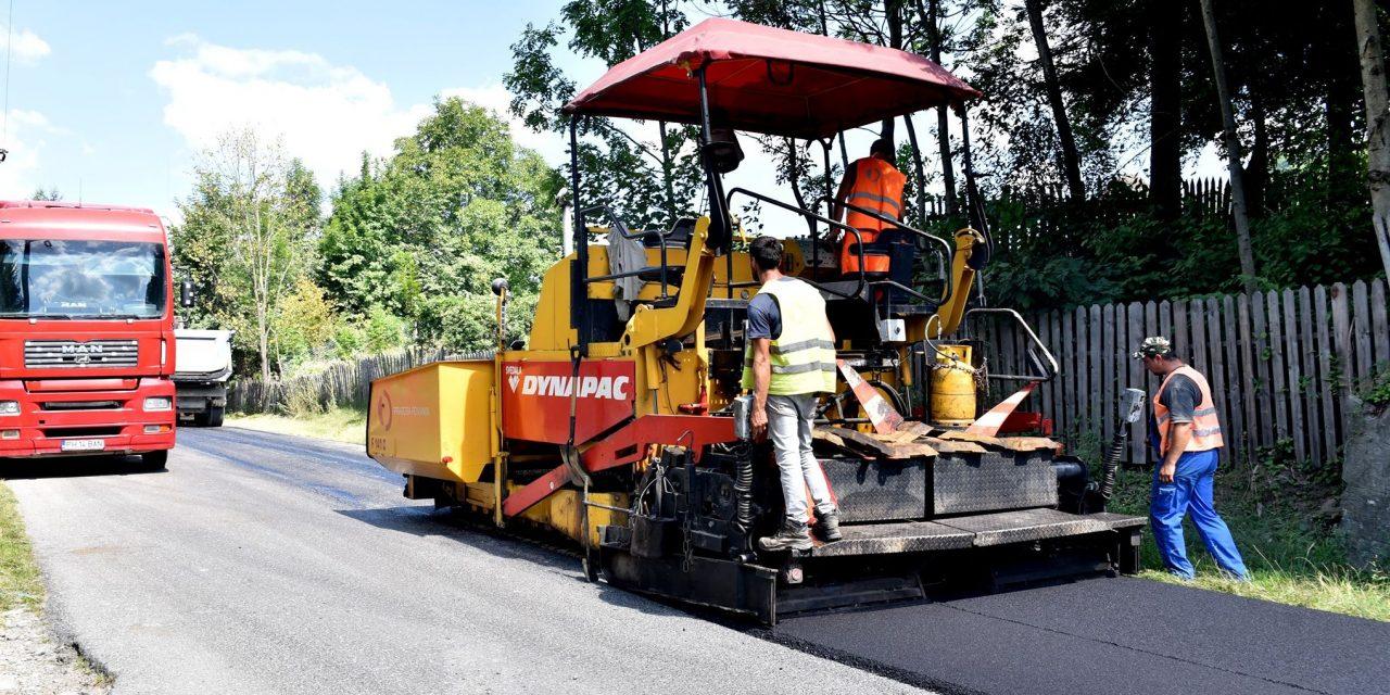 CJ Brăila reabilitează anul acesta peste 35 kilometri de drumuri judeţene