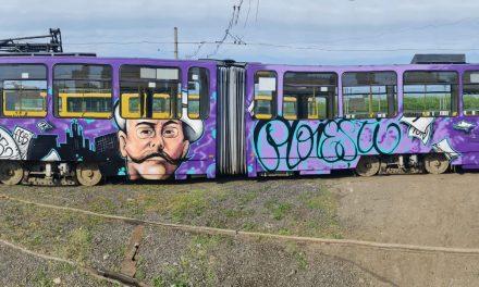 Tramvaiele din Ploieşti vor fi personalizate prin tehnica graffiti cu simboluri ale oraşului