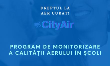 Asociaţia Română pentru Smart City lansează programul City Air, de monitorizare a calităţii aerului în şcoli