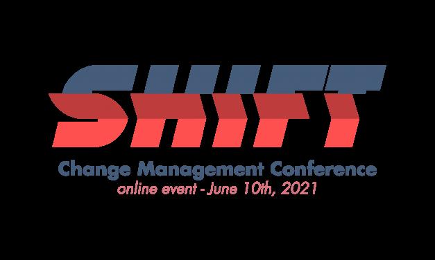 """""""SHIFT. Change Management Conference"""": pe 10 iunie, o dezbatere online despre managementul schimbării"""