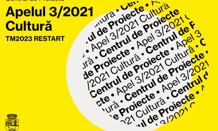 Centrul de proiecte al Primăriei Municipiului Timişoara a lansat un nou proiect de finanţare pentru TM 2023 RESTART