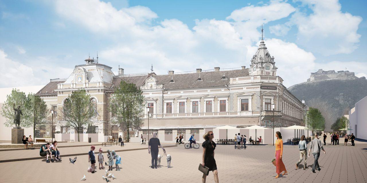 Centrul istoric al municipiului Deva intră în reabilitare pe fonduri europene