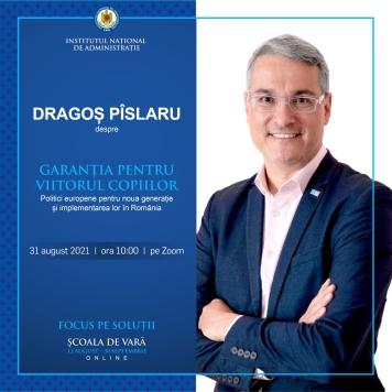 Webinar INA: GARANȚIA PENTRU VIITORUL COPIILOR – Politici europene pentru noua generație și implementarea lor în România