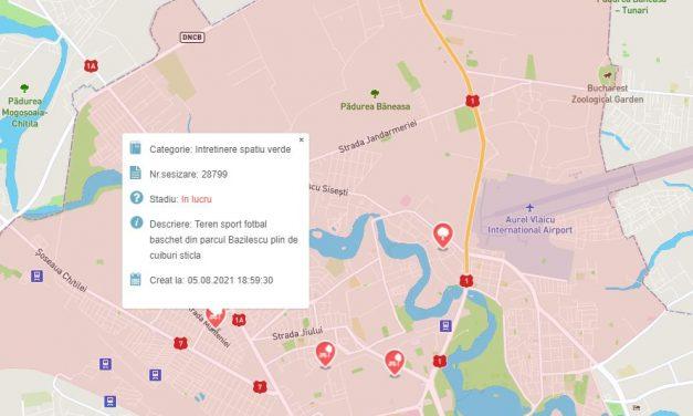 Aplicaţie pe mobil pentru raportarea problemelor din Sectorul 1