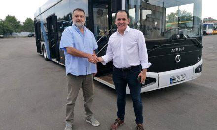 Prototipul autobuzului electric românesc e-UpCity, testat cu succes la Târgu Mureş