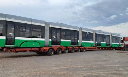 La Iaşi a ajuns primul tramvai nou, după 45 de ani de la ultima astfel de achiziţie
