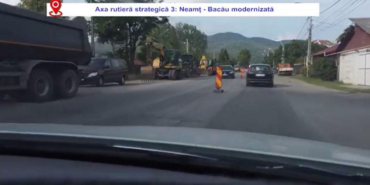 Ionel Arsene: Axa rutieră strategică 3 Neamţ – Bacău va fi modernizată