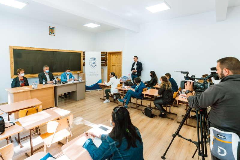 Şcoala Waldorf din Târgu Mureş, reabilitată integral în urma unei investiţii de 1 milion de lei