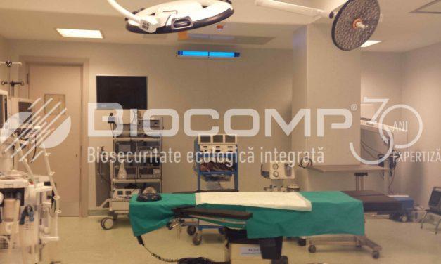 Biosecuritatea Ecologică Integrată cu tehnologia luminii UV-C – O soluție eficientă și sigură pentru sistemul medical