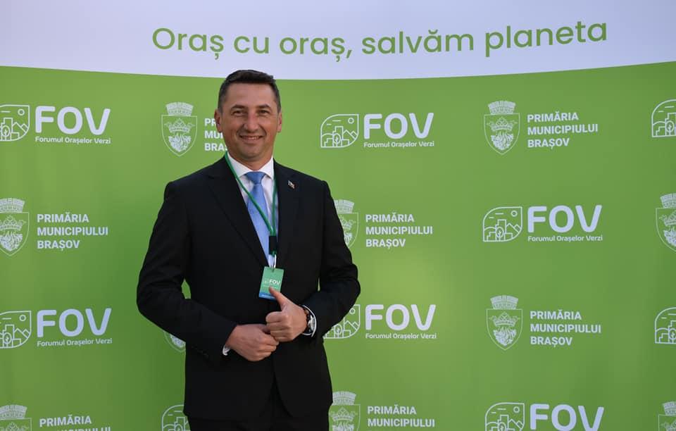 Iulian Sîrbu: La Forumul Oraşelor Verzi am identificat câteva soluţii care se pretează pentru Sighişoara