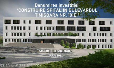 Ciprian Ciucu: Spitalul ce se va construi pe bd. Timişoara ar putea fi gata în 2024; investiţie de 340 milioane lei