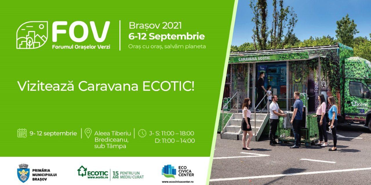 ECOTIC participă la Forumul Orașelor Verzi de la Brașov!