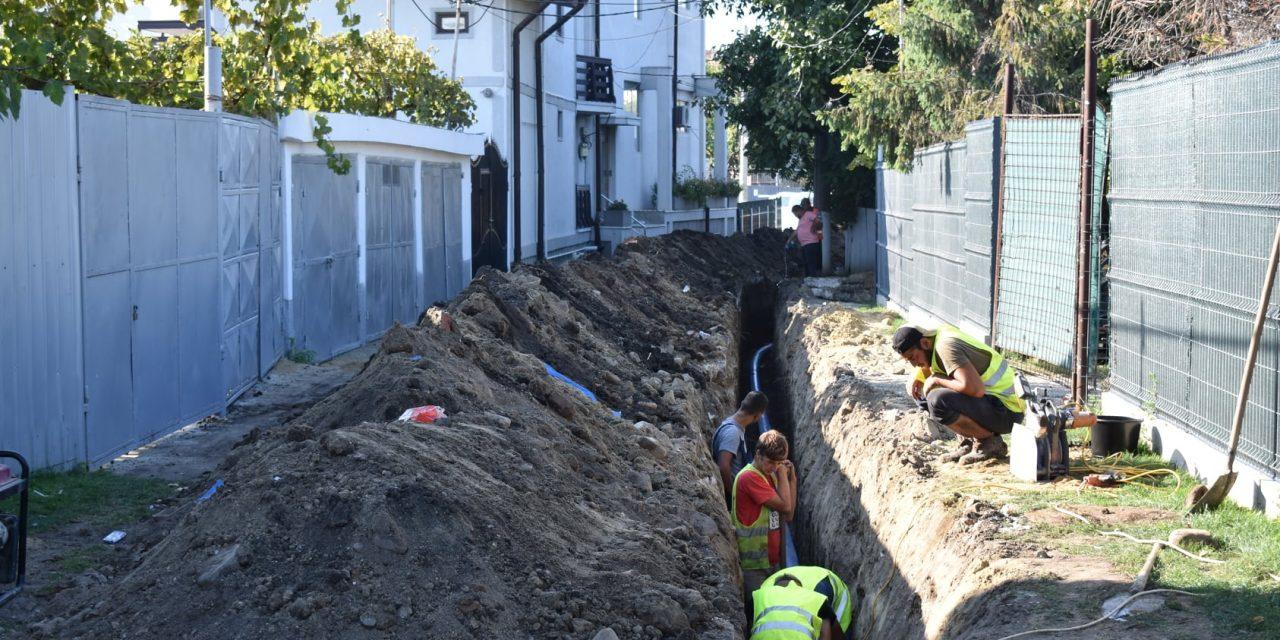 Sistemul de canalizare din Bârlad, extins pentru 59 de străzi