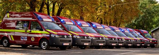 A fost semnat contractul pentru achiziţia a 106 ambulanţe în București, care vor fi utilizate de SABIF