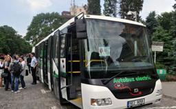 Primăria Capitalei va achiziţiona autobuze electrice