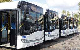 Parc nou de autobuze şi troleibuze pentru municipiul Baia Mare, cu finanţare prin POR