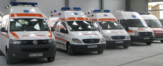 Acord de principiu pentru achiziţionarea a 100 de ambulanţe în Capitală
