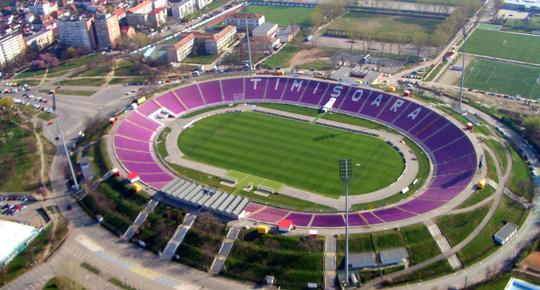 """Consiliul Judeţean Timiş a demarat procedurile pentru demolarea stadionului """"Dan Păltinişanu"""" şi construirea unuia nou"""